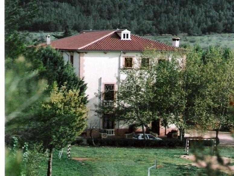 Casa del campamento