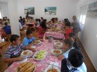 Comida en campamentos