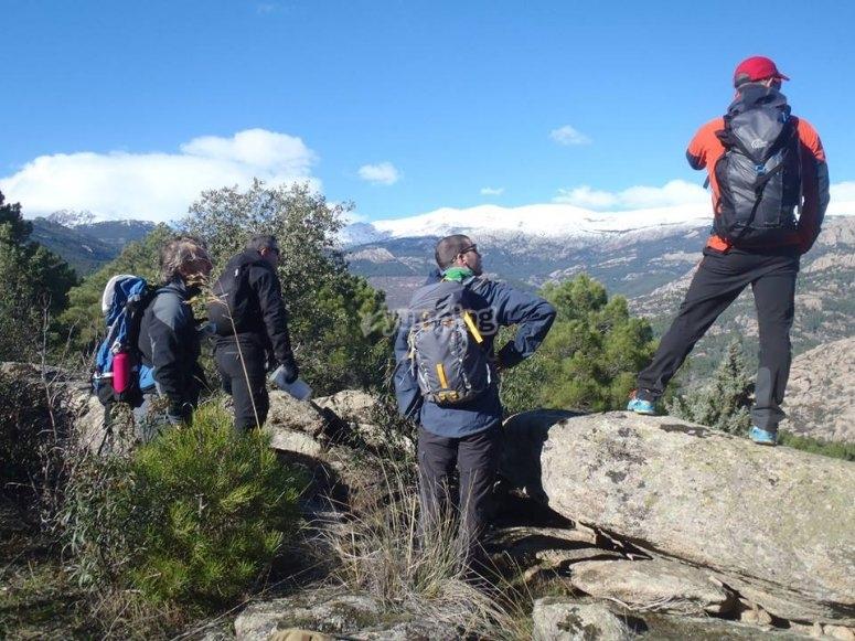 Aprendiendo orientacion en el monte