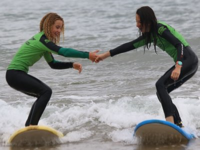 Surf Camp for Kids in Suances L. Season