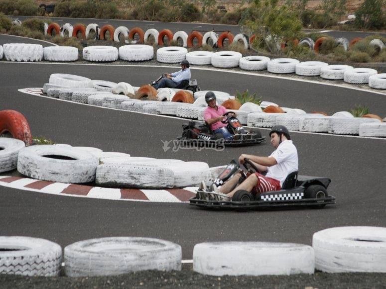 Competicion en el circuito