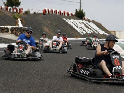 Circuito de karts en Lanzarote 3 tickets 24 min