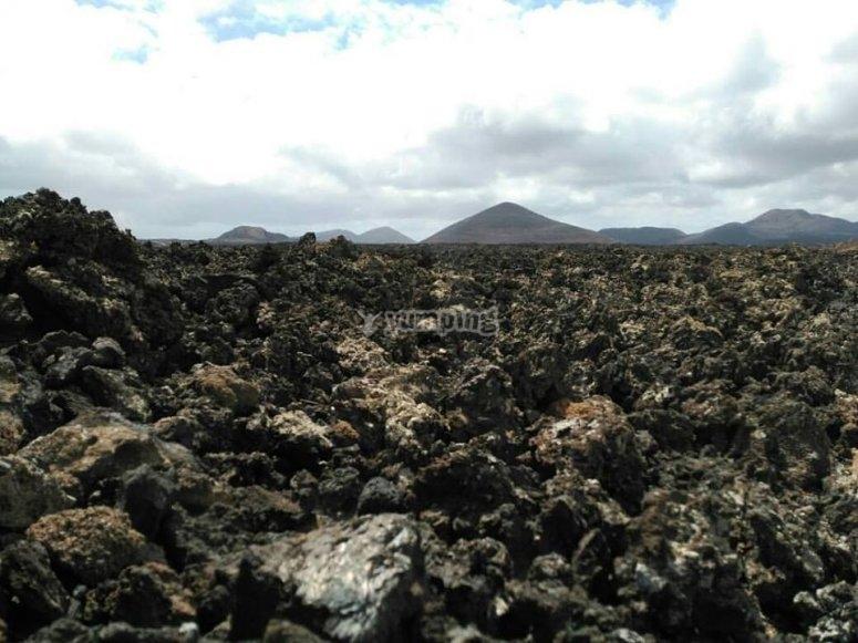 Recorrido entre volcanes