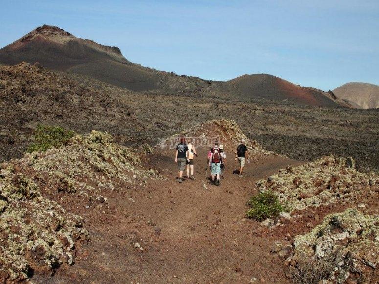 Zonas volcanicas de Lanzarote