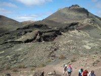 Senderismo entre los volcanes