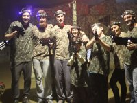 Jornada familiar de laser tag