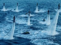 grupo en flyboard