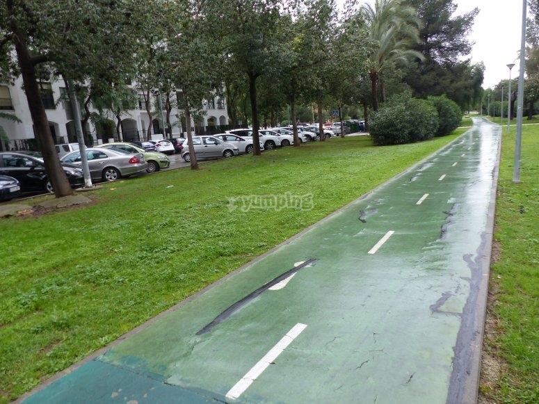 Bike lane enabled