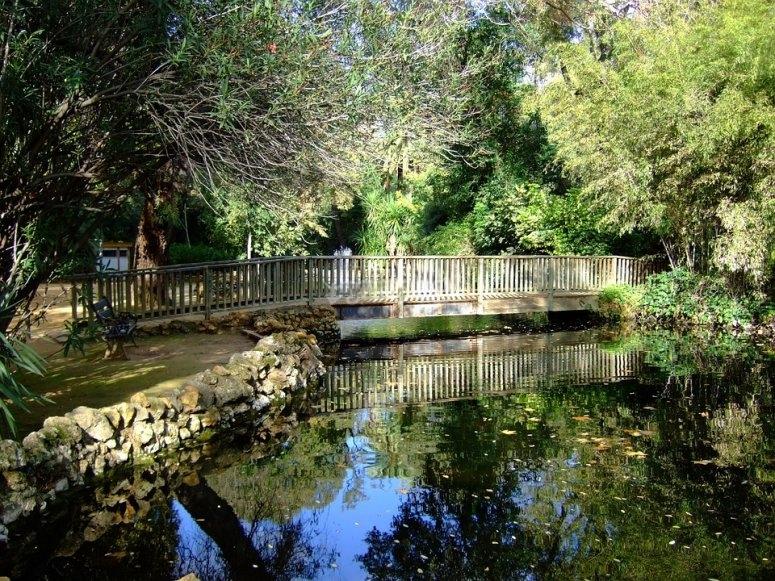 Bridge of the park of María Luisa