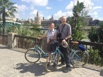 Bike guided tour in Sevilla