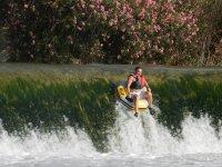 Downhill kayboat