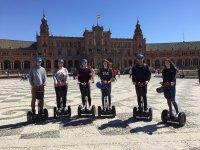 En segway por el centro de Sevilla