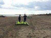 Iniciación al kitesurf en Castellón en tierra 2h
