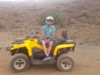 2 hour quad route in Gran Canaria