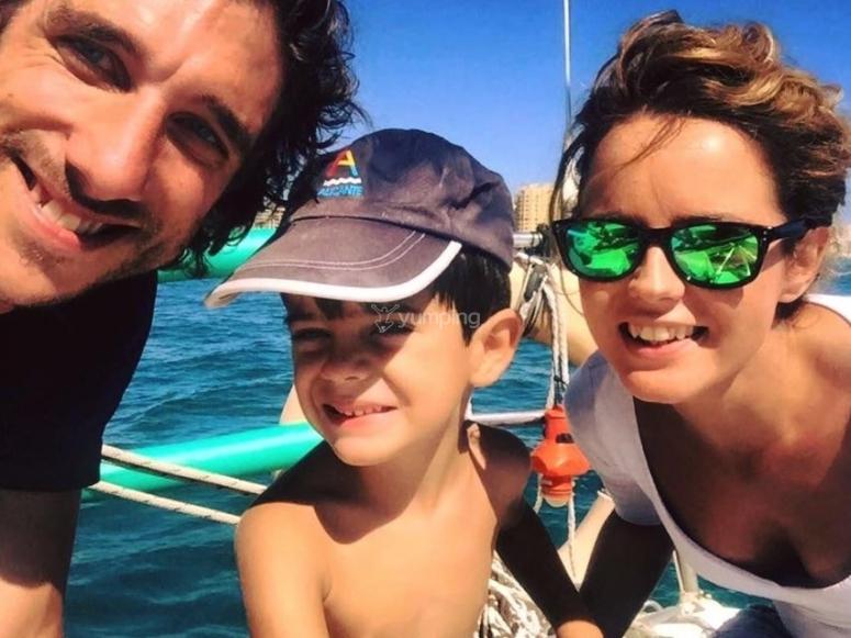 船上的家庭