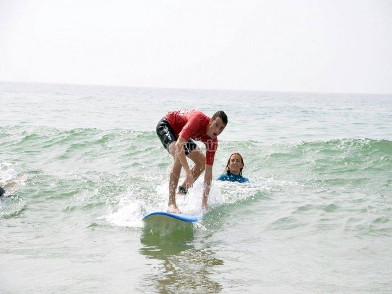 A good wave!