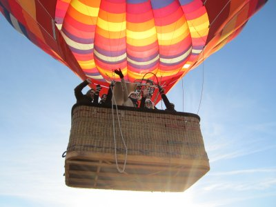 hot-air balloon ride Toledo w/ photos & HD video