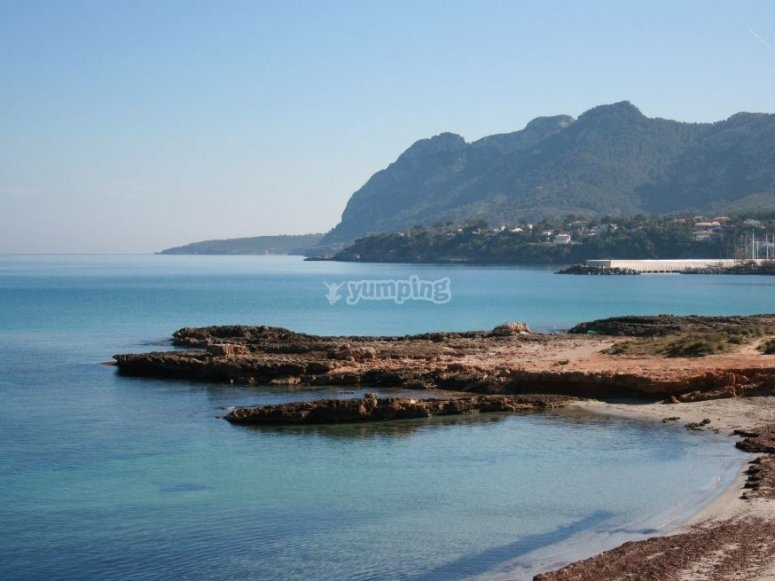 Vistas de Alcudia en Mallorca