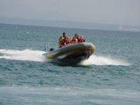 Paseo en lancha rápida en Alcudia con snorkel