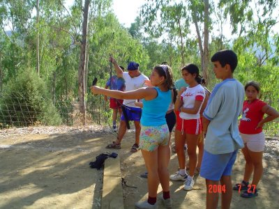 Día multiaventura en Cazalla de la Sierra colegios