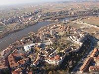 Ballooning over Zamora + photos & video