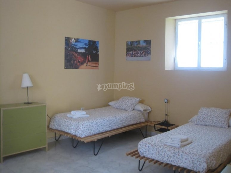Dormitorios con camas