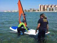 Curso de windsurf en Murcia