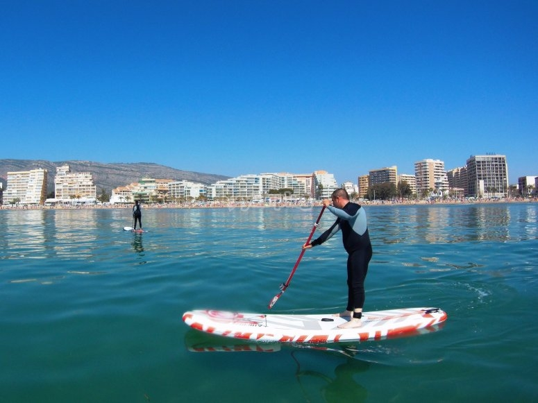 划桨冲浪课