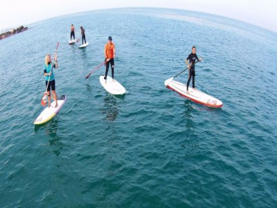 Paddle surf with waves for beginners Oropesa 2h