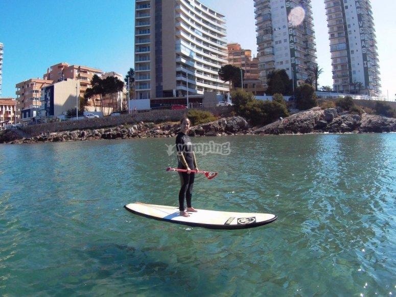 Paddle surf en Castellon