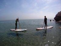 Iniciacion al paddle surf
