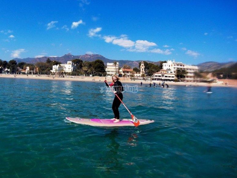 Paddle surf en Oropesa