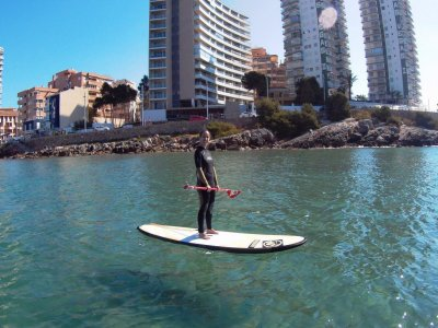 Alquiler equipo paddle surf en Oropesa 2 horas