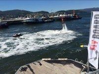 Flyboard in the Port of Vigo