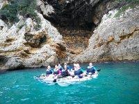 Kayak a Cova Tallada