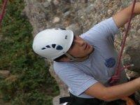 Luchando con la dureza de la roca