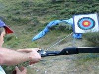 Colocando la flecha correctamente