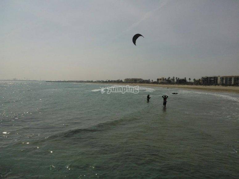 风筝冲浪会