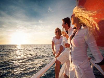 在大加那利岛的帆船旅行6h