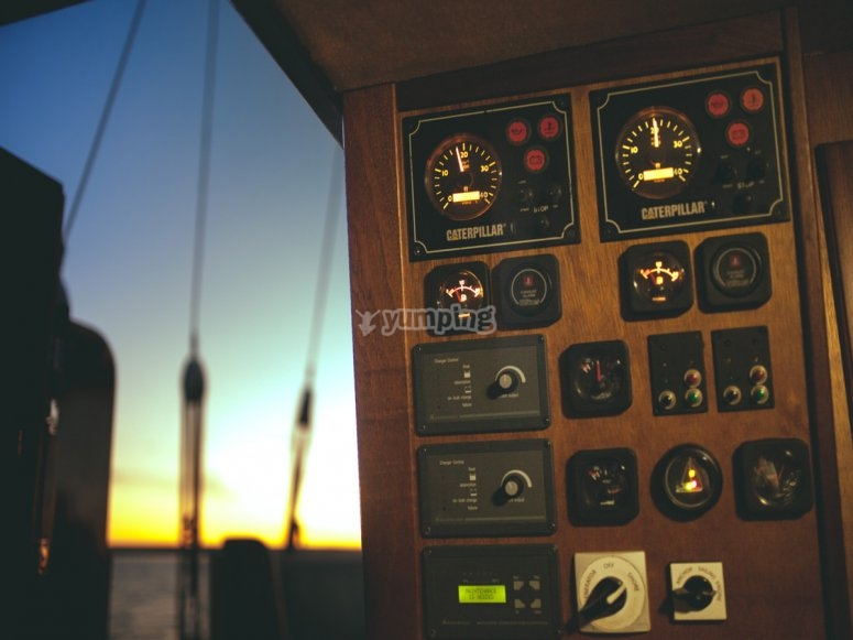 Paneles del barco