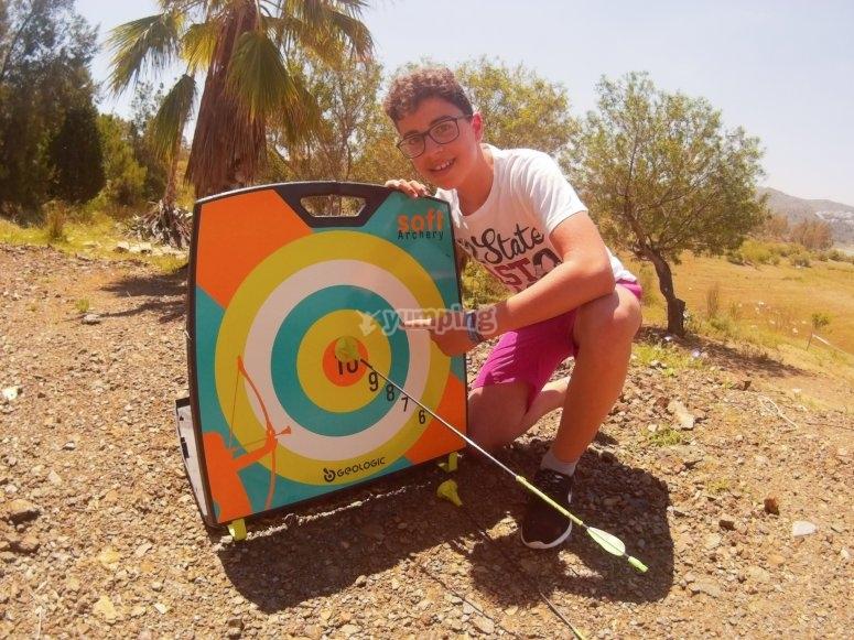 水上活动射箭训练营