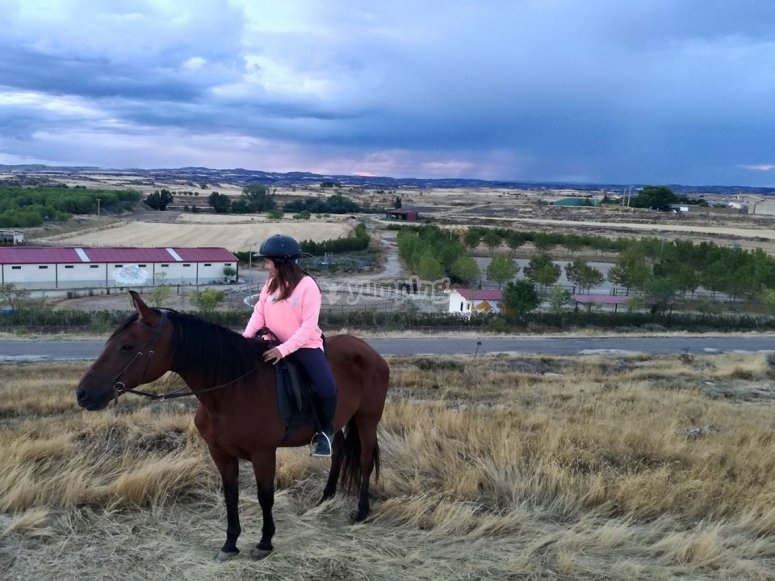 Horse riding in Zaragoza
