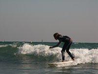 享受冲浪平衡
