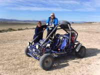 Stop in the excursion with buggies