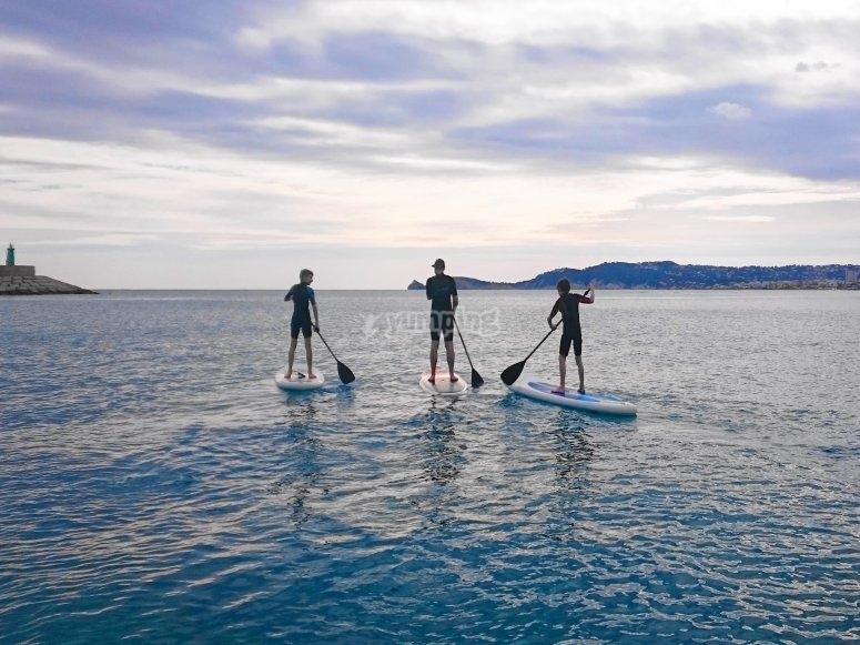 Paddle surf en Javea