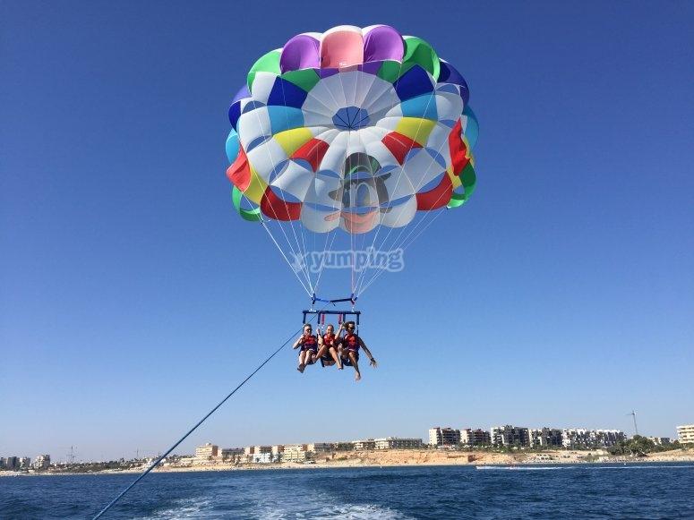 Parasailing ad Alicante