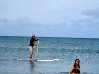 实践桨冲浪