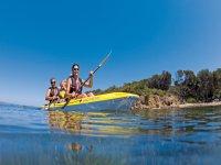 通过Cala Major进行2小时的皮划艇游览