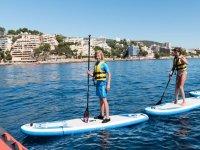 在马略卡岛1小时租桨冲浪材料