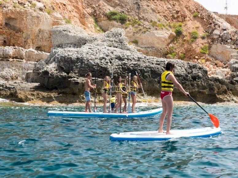 Paddle surf XL en Mallorca